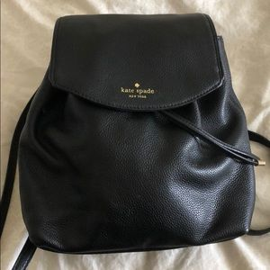 Kate Spade leather small backpack